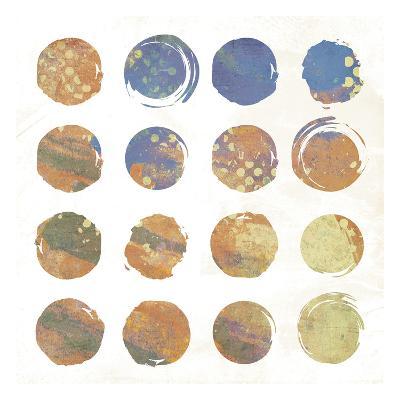 Circle Abstract 2-Jace Grey-Art Print