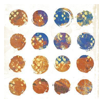 Circle Abstract 3-Jace Grey-Art Print