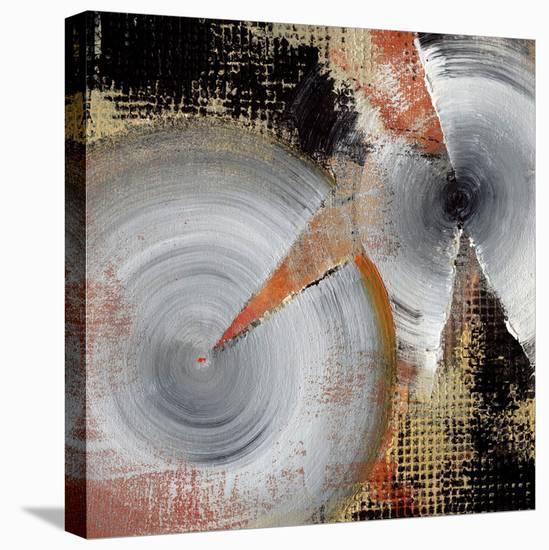 Circle Abstract I-Noah Li-Leger-Stretched Canvas Print
