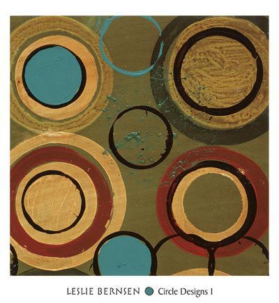 Circle Designs I-Leslie Bernsen-Art Print