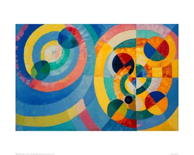 Circle Forms, 1930-Robert Delaunay-Giclee Print