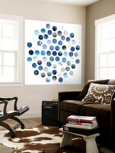 Circle Grid D-THE Studio-Wall Mural