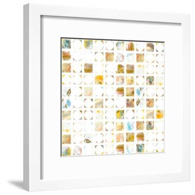 Circle Grid I-THE Studio-Framed Premium Giclee Print