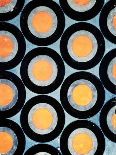 Circle Motif Texile Design-Varvara Fedorvna Stepanova-Giclee Print