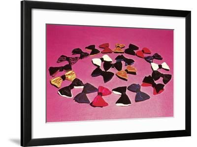 Circle of Bows--Framed Art Print
