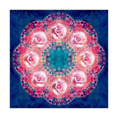 Circle Of Roses-Alaya Gadeh-Art Print