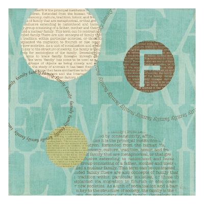 Circle of Words-Veronique Charron-Art Print