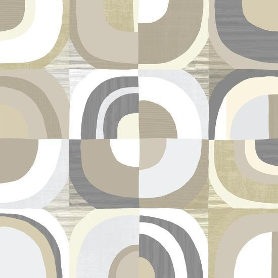 Circle Quartet Achroma-Wild Apple Portfolio-Art Print