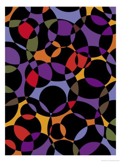 Circle Texture--Art Print