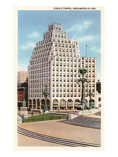 Circle Tower, Indianapolis, Indiana--Art Print