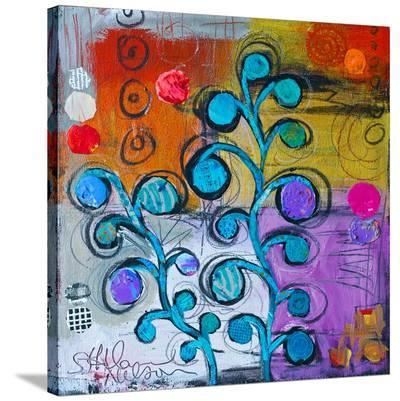 Circle Trees C--Stretched Canvas Print