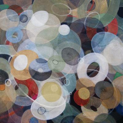 Circles 8-Michael den Hertog-Art Print