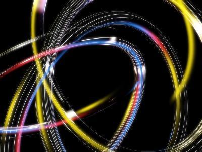 Circles, Abstract Computer Artwork-PASIEKA-Photographic Print
