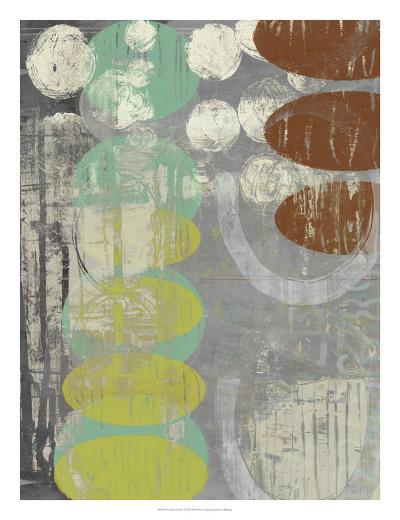 Circles Circle I-Jennifer Goldberger-Art Print