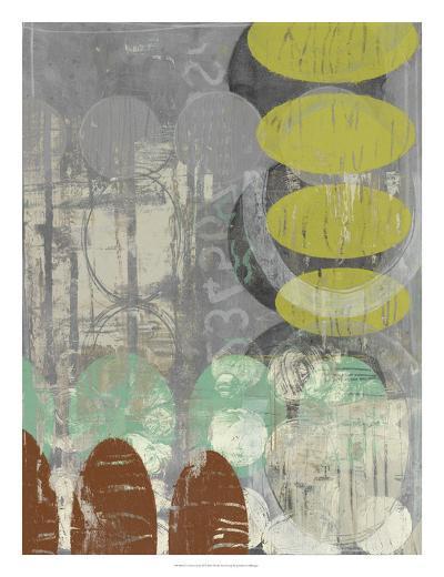 Circles Circle II-Jennifer Goldberger-Art Print