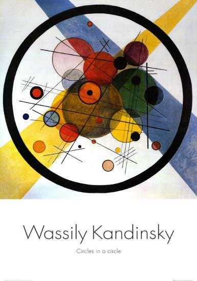 Circles in Circle-Wassily Kandinsky-Art Print
