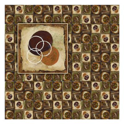 Circles in Circles I-Maria Girardi-Art Print