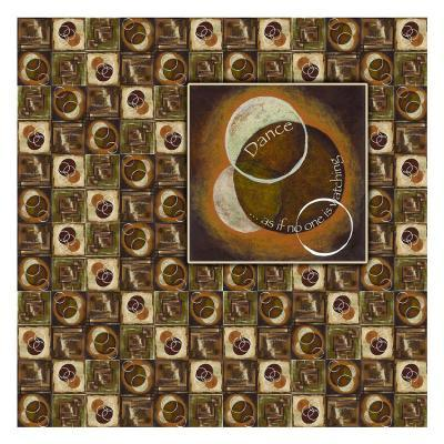 Circles in Circles IV-Maria Girardi-Art Print