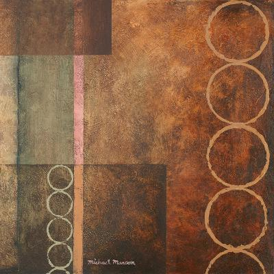 Circles in the Abstract I-Michael Marcon-Art Print