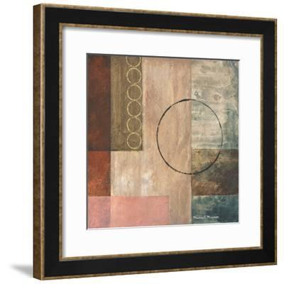 Circles in the Abstract II-Michael Marcon-Framed Art Print