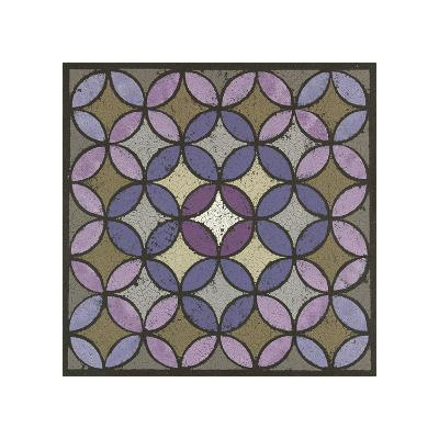 Circles Linked - Plum-Susan Clickner-Giclee Print