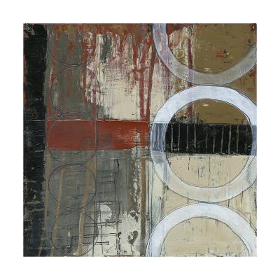 Circles & Stripes I-Jennifer Goldberger-Premium Giclee Print