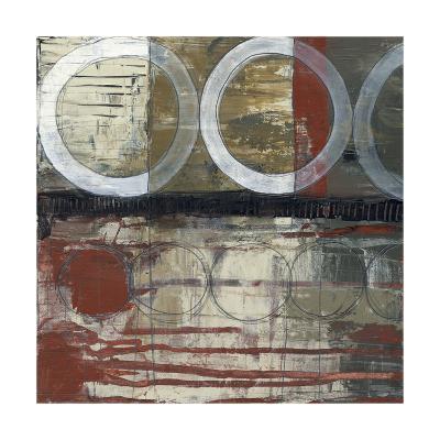 Circles & Stripes II-Jennifer Goldberger-Premium Giclee Print