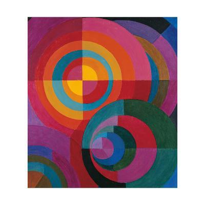 Circles-Johannes Itten-Giclee Print