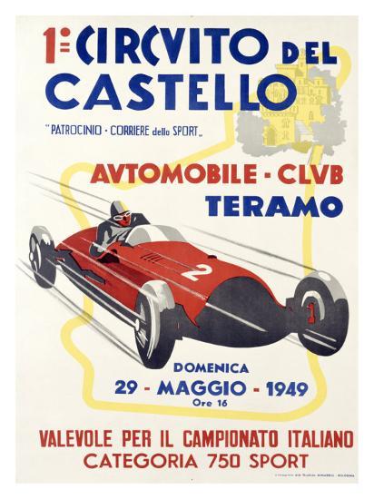 Circuito del Castello--Giclee Print