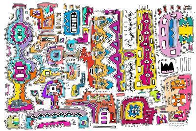 Circuits V WBG-Miguel Balb?s-Giclee Print