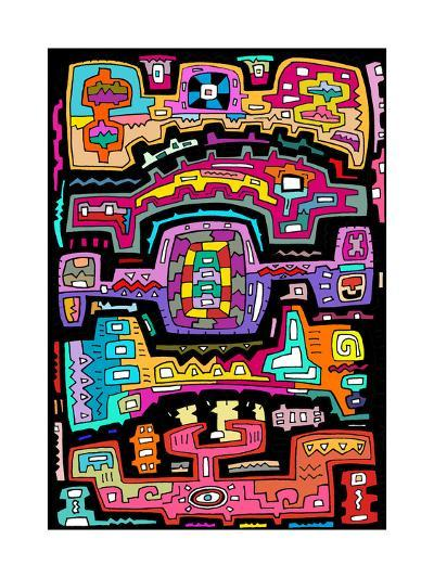 Circuits VII BBG-Miguel Balb?s-Giclee Print