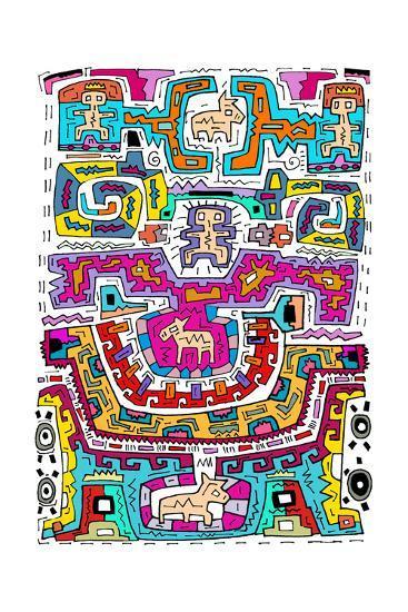 Circuits X A-Miguel Balb?s-Giclee Print