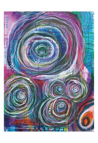 Circular Abstraction-Pam Varacek-Art Print