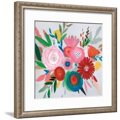 Circular Color Palette II-Isabelle Z-Framed Art Print