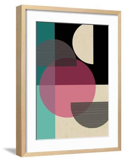 Circular Converge-Rocket 68-Framed Art Print