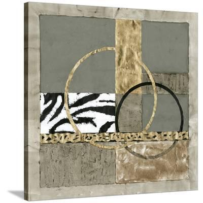 Circular Intersection I-Jennifer Goldberger-Stretched Canvas Print