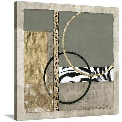 Circular Intersection II-Jennifer Goldberger-Stretched Canvas Print