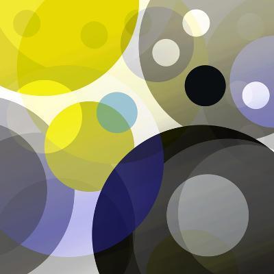 Circular Madness II-Ruth Palmer-Art Print