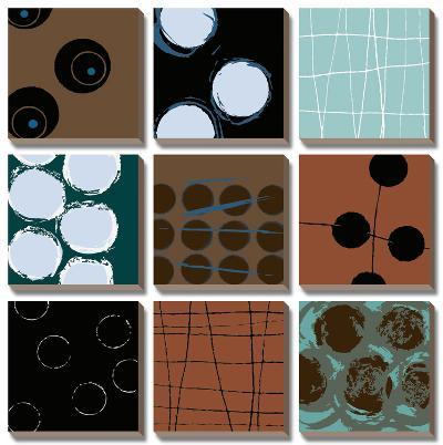 Circular Motion-Natasha Barnes-Canvas Art Set