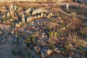 Circular Necropolis of Li Muri, 4th Millennium Bc, Near Arzachena, Sardinia, Italy