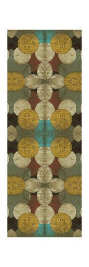 Circular Repeat III-Jennifer Goldberger-Art Print