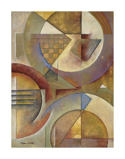 Circular Rhythms I-Marlene Healey-Art Print