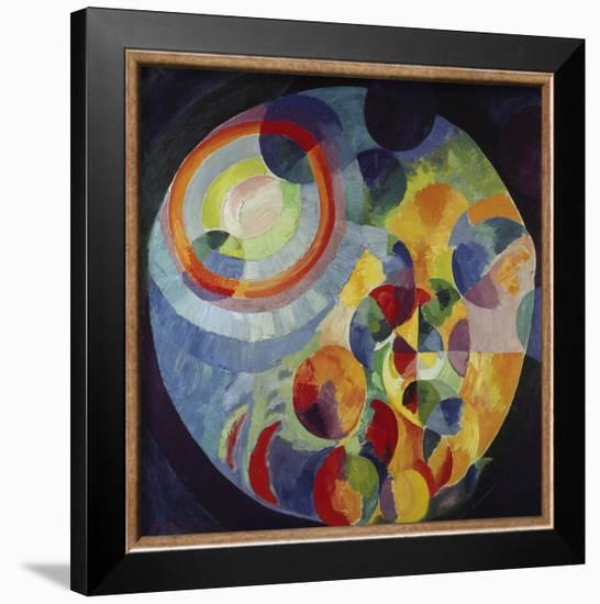 Circular Shapes, Sun and Moon, 1912/31-Robert Delaunay-Framed Art Print