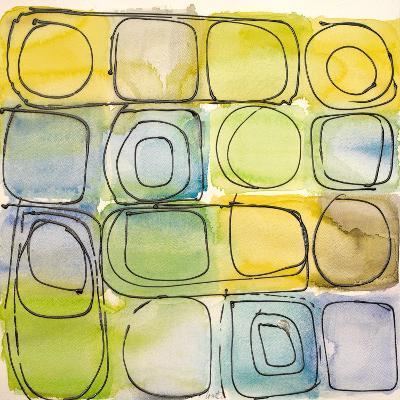 Circular Square II-Lanie Loreth-Art Print