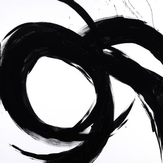Circular Strokes II-Megan Morris-Art Print