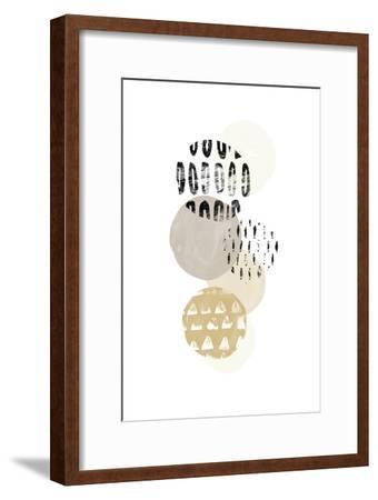 Circular Synergy III-June Vess-Framed Art Print