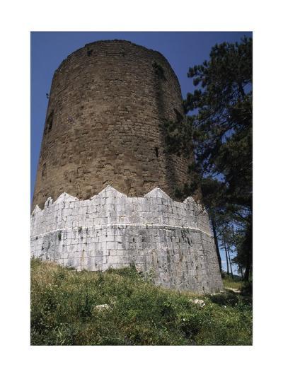 Circular Tower of Casertavecchia Castle--Giclee Print