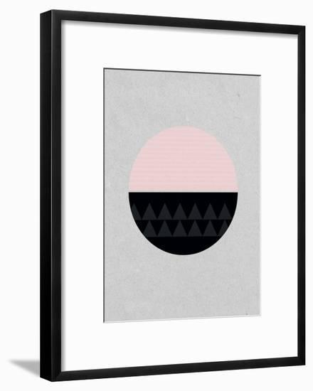 Circular-Seventy Tree-Framed Art Print