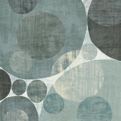Circulation I Blue and Grey-Michael Mullan-Art Print