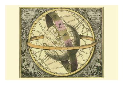 Circulis Coelestibus-Andreas Cellarius-Art Print